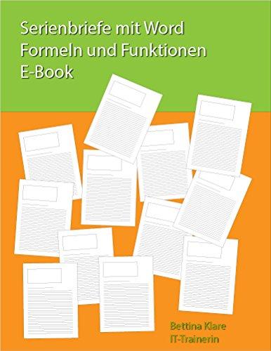 Serienbriefe mit Word (Alle Versionen) - Formeln und Funktionen