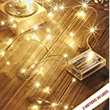 A2Z, Beauty Lights Copper String Lights 3 AA Battery Operated Portable LED Lights, Decoration Party, Wedding, Diwali, Christmas Lights (3 Meters 30 LED)