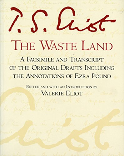The Waste Land: Facsimile Edition (A Harvest Book)