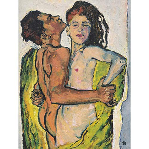 PAINTING MOSER LOVERS 12x16