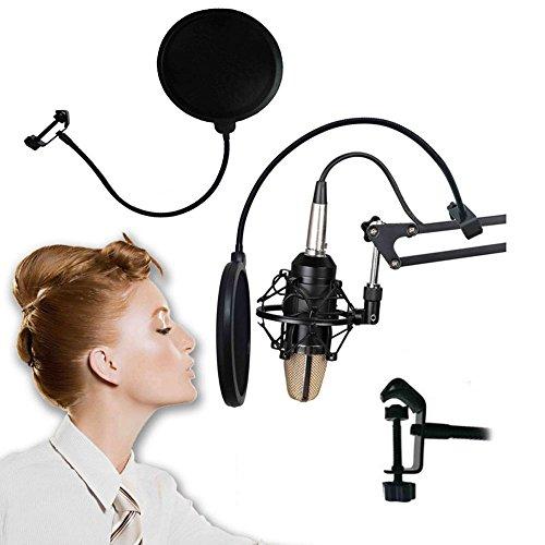 Filter Maske Anti Pop Wind Schutzschild PROFI-Mikrofon