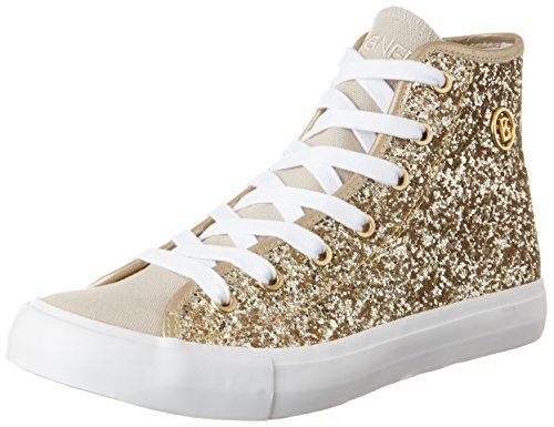 Bogner Damen New Jersey Lady 2 High-Top, Gold (Platinum), 39 EU