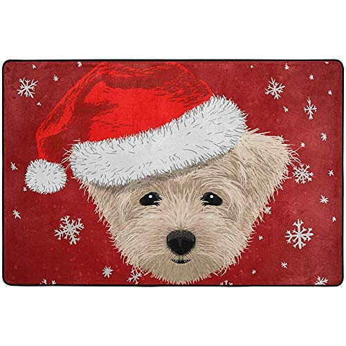 If Not Area Rug Rugs Fußmatte Floor Mates Weihnachten Neujahr Winter Cute Dog Red Für Home Office Schlafzimmer Küche