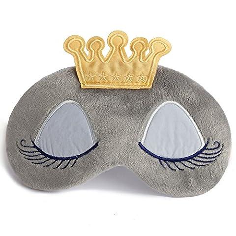YSBER Schlaf Augenmaske Augenklappe Soft Ice Pack Eye Maske für Bedtime & Travel, Kühl/Warm Therapie, Geschwollene Augen und Augenringe