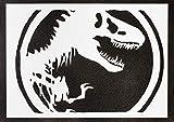 Poster Jurassic World Handmade Graffiti Street Art - Artwork
