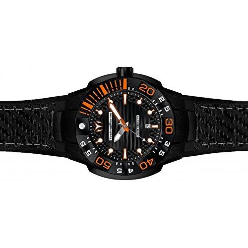 technomarine-mens-reef-black-silicone-band-carbon-fiber-case-quartz-analog-watch-tm-515028