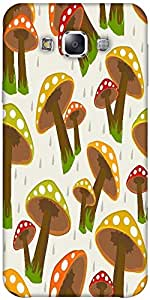 Snoogg Seamless Rainy Season Background Solid Snap On - Back Cover All Around...