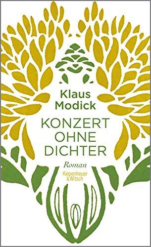 Buchseite und Rezensionen zu 'Konzert ohne Dichter: Roman' von Klaus Modick