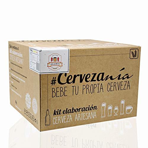 #Cervezanía - Kit de elaboración de cerveza artesana Tripel Blonde Ale   Con levadura belga de abadía