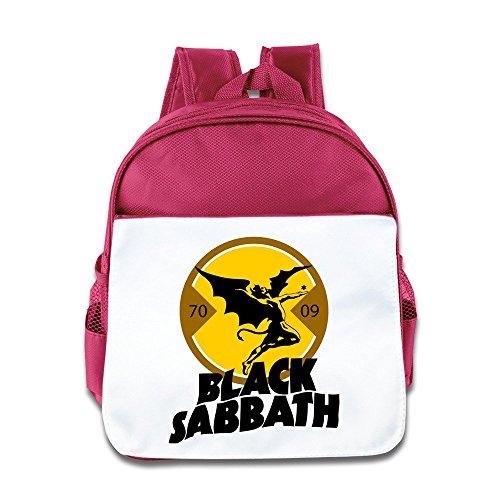 Black Sabbath Logo kidâ € TMS Schule Tasche rosa rose Einheitsgröße -