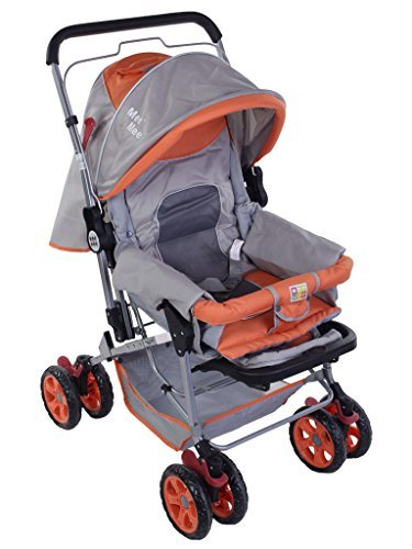 Mee Mee Pram, MM-44, Red (ORANGE)