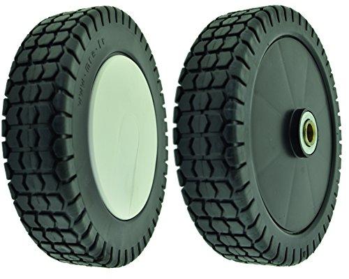 Greenstar Rueda de plástico con rodadura de plástico adaptable para Honda, Negro, 27259