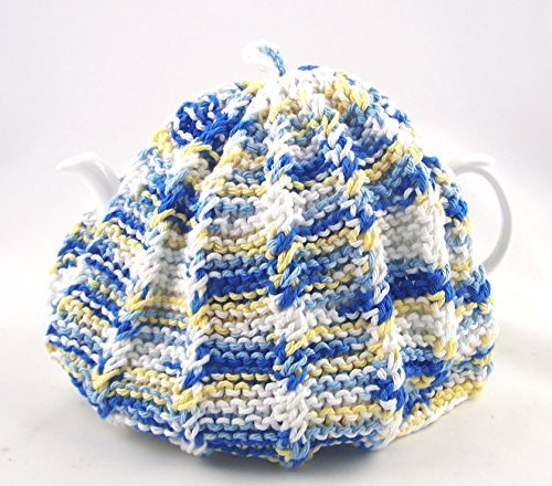 Knit Tee (Knit Tee Cozy gemütlichen handgefertigt waschbar Country Kitchen Farben-Blau Und Gelb)