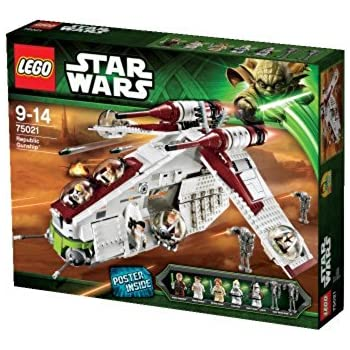 LEGO Star Wars - 75021 - Jeu de Construction - Republic Gunship