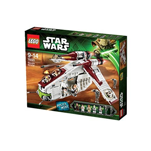LEGO Star Wars 75021 - Republic Gunship - Spielzeug Clone Lego Star Wars