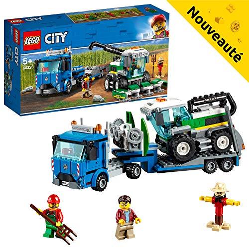 LEGO City - Le transport de l'ensileuse - 60223 - Jeu de construction