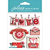 Jolees Boutique Dimensional Stickers, Va...