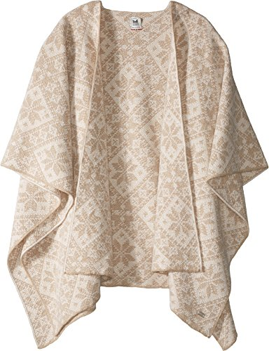 Dale of Norway Damen Rose Shawl Beige Melange