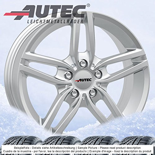 4-winterrader-autec-kitano-70jx16-et52-5x112-silber-mit-205-60-r16-92h-semperit-speed-grip-2-fur-bmw