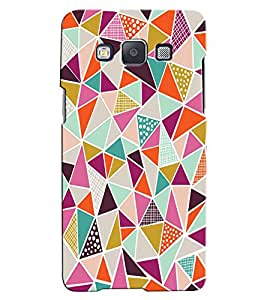 Citydreamz Abstract Hard Polycarbonate Designer Back Case Cover For Samsung Galaxy On7 Pro