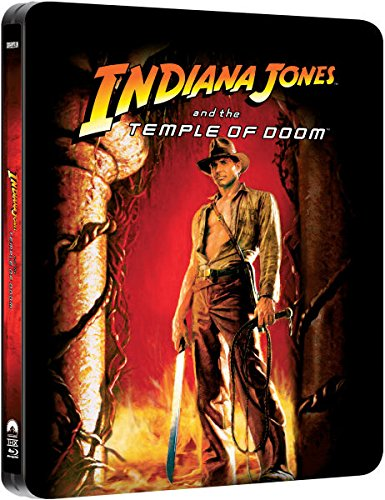 Indiana Jones and the Temple of Doom - Exklusive Limited Steelbook Edition (inkl. Deutscher Ton / auf 4000 Stk. geprägt) (Der Tempel des Todes) [Blu-ray]