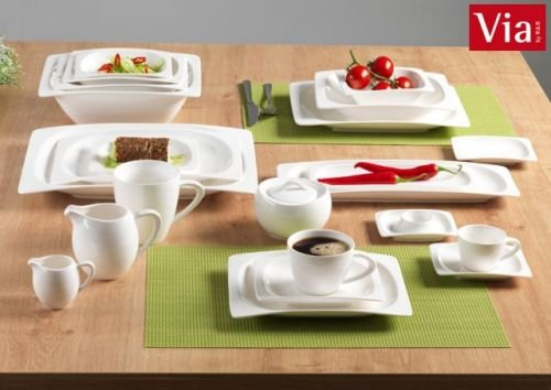 Via By R&B Geschirr-Serie Vita Material Milch&Zucker Set 2 tlg