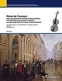 Pièces de Concours: Issues du répertoire du Conservatoire de Paris. Band 1. Viola und Klavier. Partitur und Stimme.
