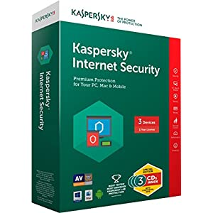 Kaspersky Internet Security Latest version – 3 Users