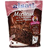 Alsa Préparation à Cuire Gâteau Moelleux Chocolat 500 g - Lot de 3