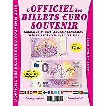 Officiel des billets euro souvenir
