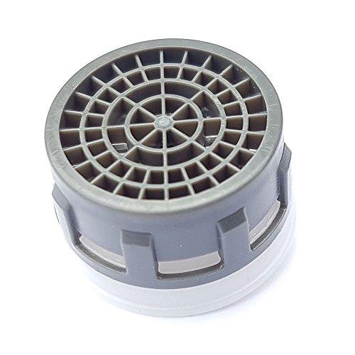Rubinetto rubinetto aeratore plastica sostituzione inserto 9 l / min 22 millimetri 24 millimetri