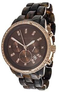 MICHAEL KORS - MK5366 - Montre Femme - Quartz Analogique - Cadran Marron - Bracelet Plastique Marron