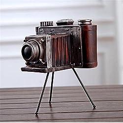 Wmshpeds Industrielle américaine rétro, Vent cadeaux créatifs, décoration de la maison, vieux métiers de résine, de l'équipement de l'appareil photo à l'ancienne