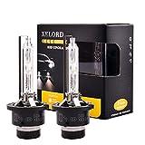 D2S Xenon Brenner 6000K HID Scheinwerfer lampe 35W für Autoscheinwerfer 12V Upgrade-Version - 2 Stück