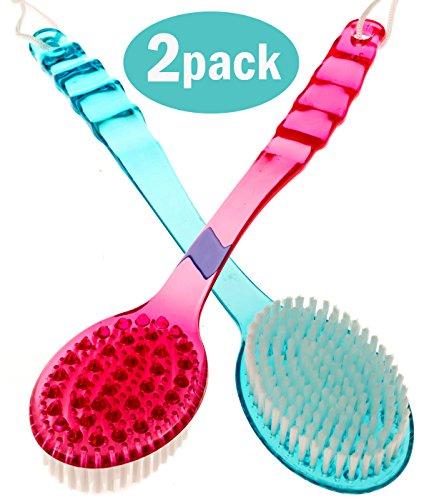 fleur-de-bain-a-dos-lot-de-2-douche-en-plastique-brosse-de-bain-de-massage-double-face-cellulite-con