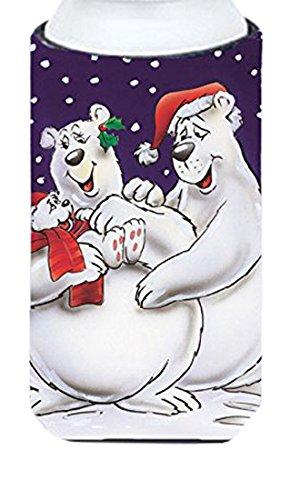 holiday-polar-bears-tall-boy-koozie-hugger-aah7269tbc