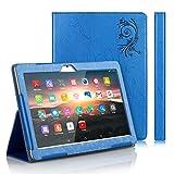 TOSICDO Case Coque étui pour Tablette Tactile 10.1 Pouces Compatible avec Tablet W109,K108 (Bleu)