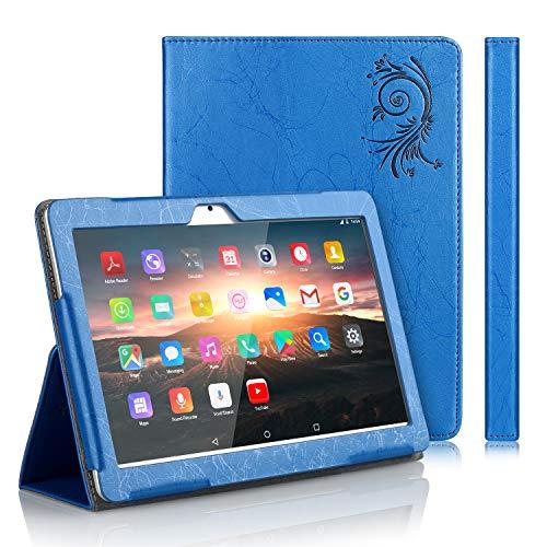 custodie tablet TOSCiDO Custodia per Tablet 10 Flip Cover PU in Pelle e fondello in Acrilico