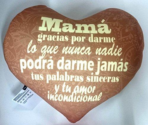 Cojin corazón mamá