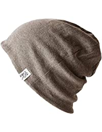 705fdb614ac Casualbox Charm Organic Cotton Beanie Made in Japan Slouchy Warm Knit Cap  Reversible Mens   Women