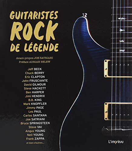 Guitaristes rock de légende -
