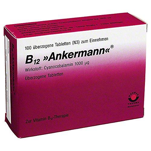 B12 ANKERMANN überzogene Tabletten 100 St Überzogene Tabletten