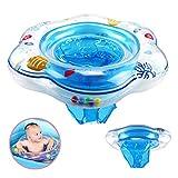 DAYPICKER Baby Schwimmring mit Schwimmsitz, aufblasbare Baby Schwimmring für Kleinkind Schwimmhilfe...