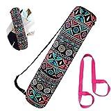 BIEE Borsa Porta Indumenti da Yoga con Tasca Multi-Funzionale, Yoga Mat Pilates Bag per Donne e Uomini