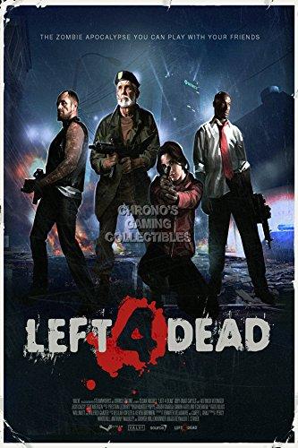 CGC Große Poster–Left 4Dead Xbox 360PC–l4d002, Papier, 24