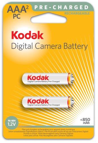 Kodak Pile AAA Micro NiMh, 840 mAh, confezione da 2