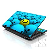 LSS (17-17,3 Zoll) Notebook Laptop Skin Aufkleber für 16,5 cm, 17 Zoll, 17,3 Zoll, 18,4, 19 Zoll, Apple, Asus, Acer, HP, Dell, Lenovo, Asus, Compaq, inkl. 2 Wrist Pad...