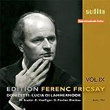 Donizetti : Edition Ferenc Fricsay Vol.9 - Lucia di Lammermoor - Gaetano Donizetti - 2 CD
