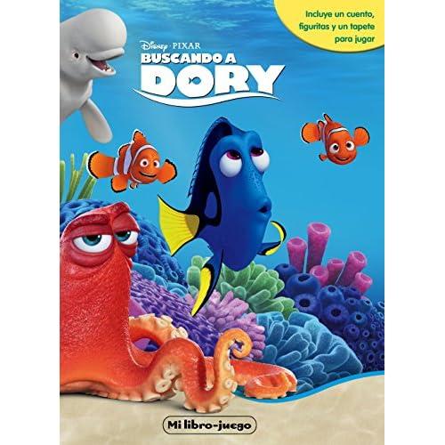 Buscando a Dory. Mi libro-juego: Incluye un cuento, figuritas y un tapete para jugar (Libroaventuras) 8