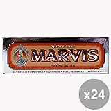 MARVIS Set 24 Dentifrice Menthe Gingembre 25 Ml. Produits Pour Les Dents